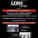 LEROS.IL MIO VIAGGIO incontro con il Prof. Franco Rotelli