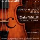 CASALMAGGIORE INTERNATIONAL MUSIC FESTIVAL 7-27 luglio 2014 | 18ª Edizione
